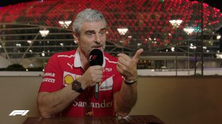 VIDEO: Ferrari's Maurizio Arrivabene aims for the Grill the Grid title