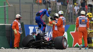 THE ROOKIE: Hartley on his 'biggest ever crash' and Days of Thunder moment