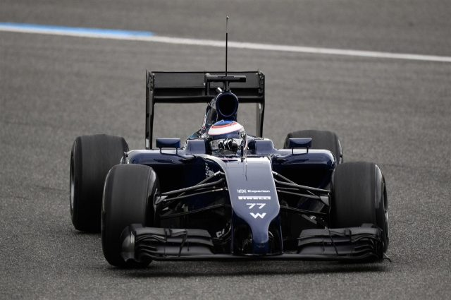 Valtteri Bottas (FIN) Williams FW36. Formula One Testing, Jerez, Spain, Day One, Tuesday, 28 January 2014. © Sutton Images