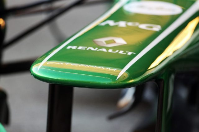 Caterham CT03 nose detail. Caterham CT03 Launch, Jerez, Spain, Tuesday, 5 February 2013. © Sutton Images