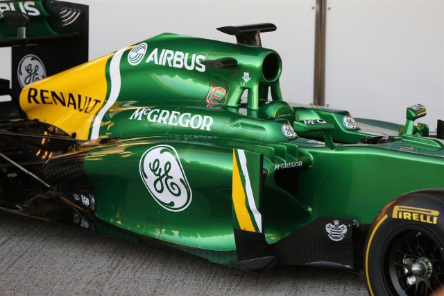 Caterham CT03. Caterham CT03 Launch, Jerez, Spain, Tuesday, 5 February 2013. © Sutton Images