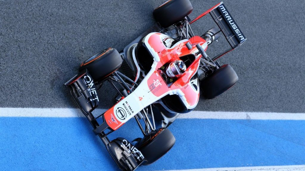 Marussia%27s%20MR03%20debuts%20in%20Spain