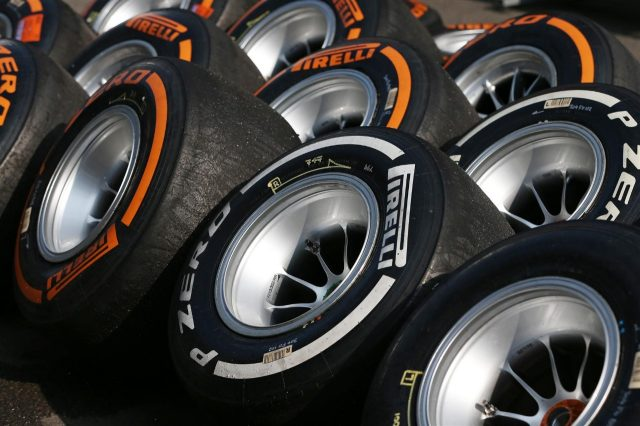 Pirelli tyres. Formula One Young Drivers Test, Silverstone, England, Day One, Wednesday, 17 July 2013. © Sutton Images