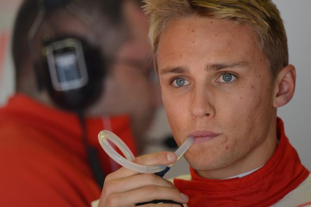 Max Chilton (GBR) Marussia F1 Team. Formula One World Championship, Rd9, German Grand Prix, Practice, Nurburgring, Germany, Friday, 5 July 2013. © Sutton Images