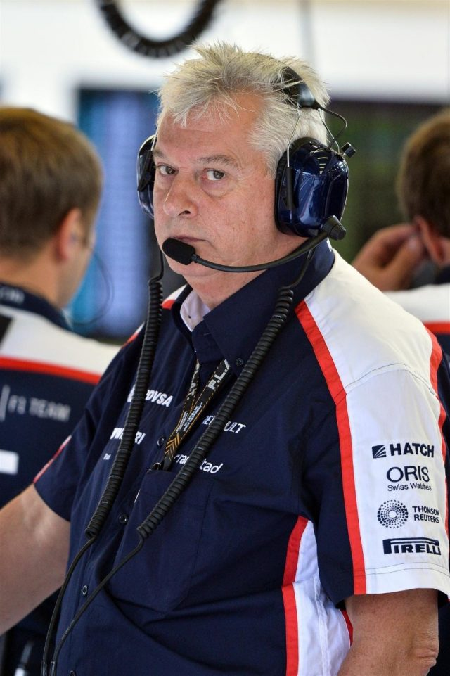 Pat Symonds (GBR) Williams Technical Director. Formula One World Championship, Rd11, Belgian Grand Prix, Preparations, Spa-Francorchamps, Belgium, Thursday, 22 August 2013. © Sutton Images