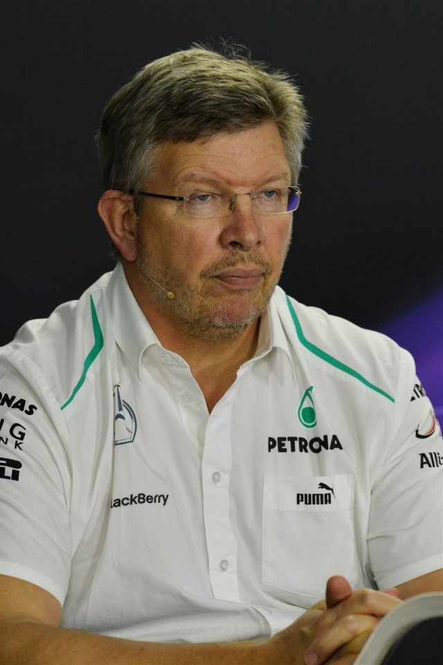 Ross Brawn (GBR) Mercedes AMG F1 Team Principal in the Press Conference. Formula One World Championship, Rd19, Brazilian Grand Prix, Practice, Sao Paulo, Brazil, Friday, 22 November 2013