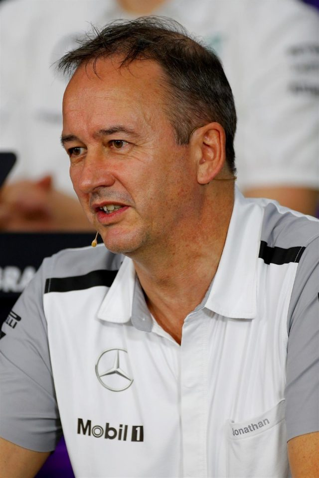 Jonathan Neale (GBR) McLaren Managing Director in the Press Conference. Formula One World Championship, Rd15, Japanese Grand Prix, Practice, Suzuka, Japan, Friday, 3 October 2014