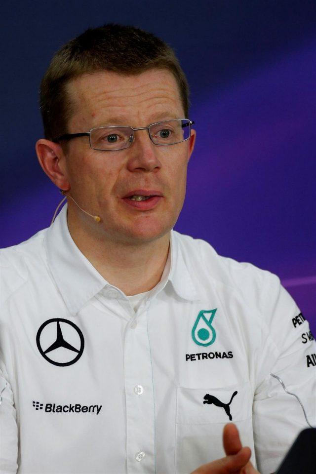 Andy Cowell (GBR) Managing Director, Mercedes AMG High Performance Powertrains in the Press Conference. Formula One World Championship, Rd15, Japanese Grand Prix, Practice, Suzuka, Japan, Friday, 3 October 2014