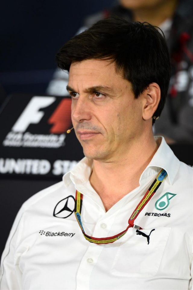 Toto Wolff (AUT) Mercedes AMG F1 Director of Motorsport in the Press Conference. Formula One World Championship, Rd17, United States Grand Prix, Practice, Austin, Texas, USA, Friday, 31 October 2014