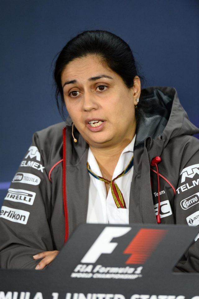 Monisha Kaltenborn (AUT) Sauber Team Prinicpal in the Press Conference. Formula One World Championship, Rd17, United States Grand Prix, Practice, Austin, Texas, USA, Friday, 31 October 2014