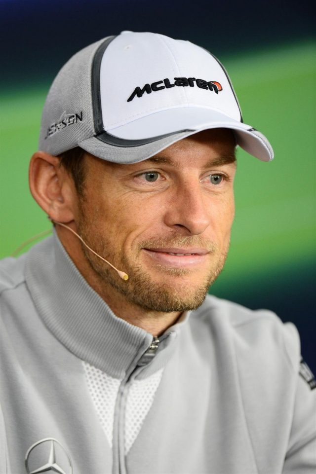 Jenson Button (GBR) McLaren in the Press Conference. Formula One World Championship, Rd15, Japanese Grand Prix, Preparations, Suzuka, Japan, Thursday, 2 October 2014