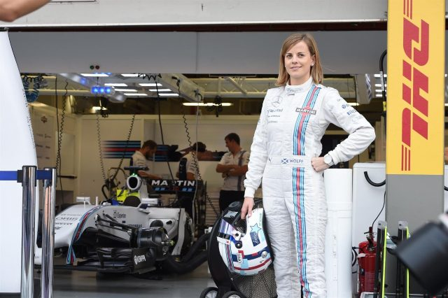 Susie Wolff (GBR) Williams Development Driver. Formula One World Championship, Rd14, Singapore Grand Prix, Marina Bay Street Circuit, Singapore, Race Day, Sunday, 21 September 2014