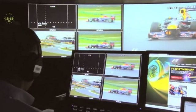 Formula One Management's remote operations centre. © Tata Communications