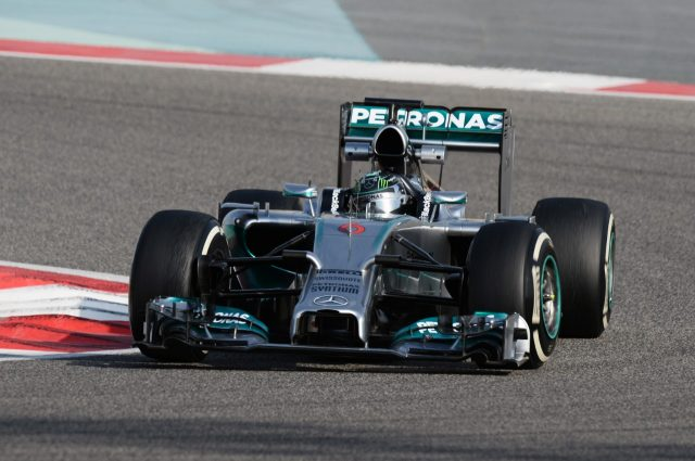 Nico Rosberg (GER) Mercedes AMG F1 W05. Formula One Testing, Day One, Bahrain International Circuit, Sakhir, Bahrain, Thursday, 27 February 2014 © Sutton Images. No reproduction without permission