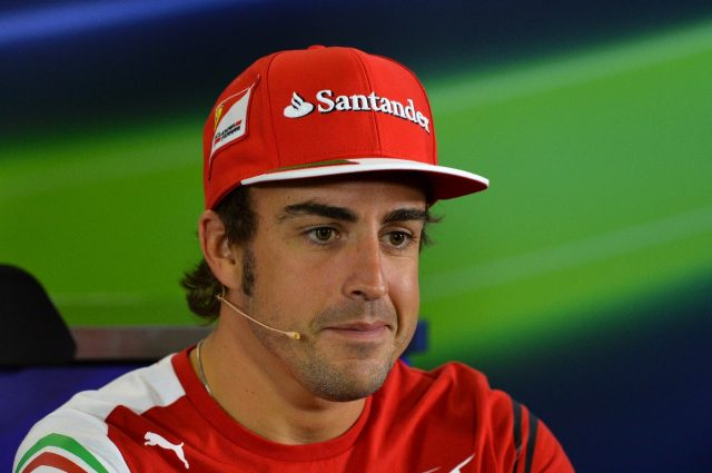 Fernando Alonso (ESP) Ferrari in the Press Conference. Formula One World Championship, Rd1, Australian Grand Prix, Preparations, Albert Park, Melbourne, Australia, Thursday, 13 March 2014 © Sutton Images. No reproduction without permission