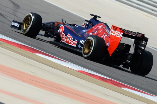 Daniil Kvyat (RUS) Scuderia Toro Rosso STR9. Formula One Testing, Day Three, Bahrain International Circuit, Sakhir, Bahrain, Saturday, 1 March 2014 © Sutton Images. No reproduction without permission