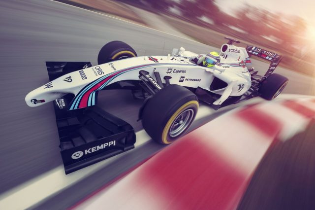 Williams FW36 with Martini livery © Williams Martini Racing
