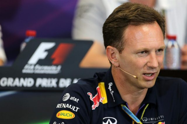 Christian Horner (GBR) Red Bull Racing Team Principal in the Press Conference. Formula One World Championship, Rd6, Monaco Grand Prix, Practice, Monte-Carlo, Monaco, Thursday, 22 May 2014. © Sutton Images