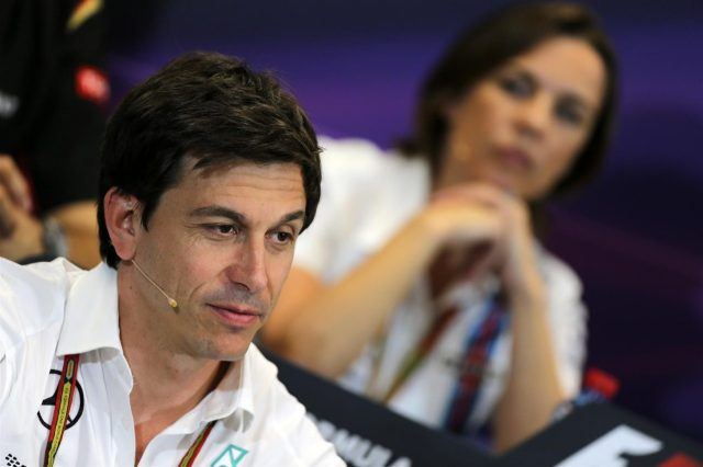 Toto Wolff (AUT) Mercedes AMG F1 Director of Motorsport in the Press Conference. Formula One World Championship, Rd6, Monaco Grand Prix, Practice, Monte-Carlo, Monaco, Thursday, 22 May 2014. © Sutton Images