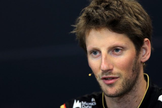 Romain Grosjean (FRA) Lotus F1 in the Press Conference. Formula One World Championship, Rd6, Monaco Grand Prix, Preparations, Monte-Carlo, Monaco, Wednesday 21 May 2014. © Sutton Motorsport Images
