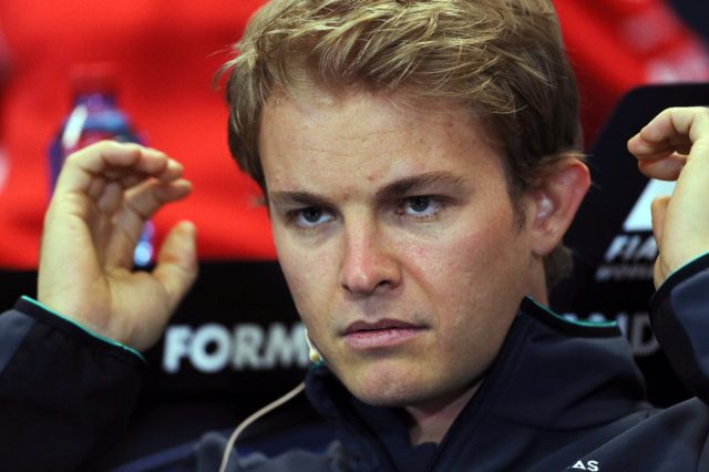 Nico Rosberg (GER) Mercedes AMG F1 in the Press Conference. Formula One World Championship, Rd6, Monaco Grand Prix, Preparations, Monte-Carlo, Monaco, Wednesday 21 May 2014. © Sutton Motorsport Images