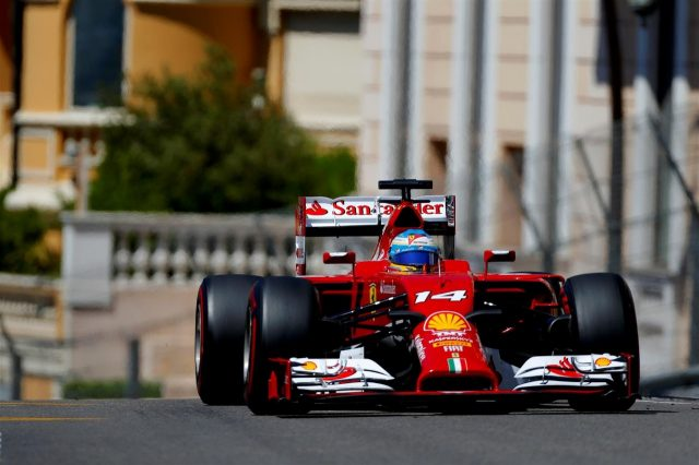 Fernando Alonso (ESP) Ferrari F138. Formula One World Championship, Rd6, Monaco Grand Prix, Qualifying, Monte-Carlo, Monaco, Saturday, 24 May 2014. © Sutton Images
