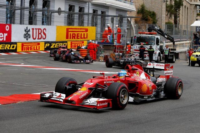 Fernando Alonso (ESP) Ferrari F138. Formula One World Championship, Rd6, Monaco Grand Prix, Race, Monte-Carlo, Monaco, Sunday, 25 May 2014. © Sutton Images