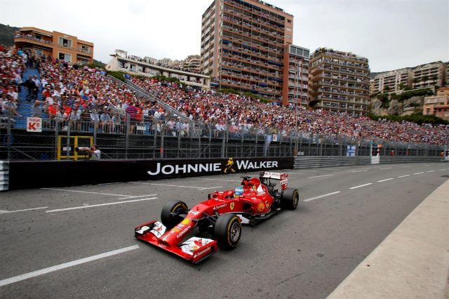 Fernando Alonso (ESP) Ferrari F14 T. Formula One World Championship, Rd6, Monaco Grand Prix, Race, Monte-Carlo, Monaco, Sunday, 25 May 2014. © Sutton Images
