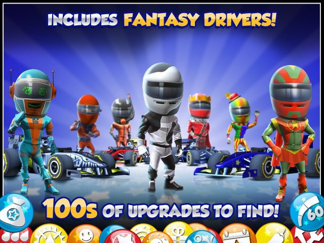 F1 Race Stars on iOS by Codemasters. © Codemasters