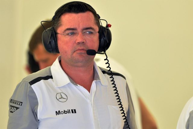 Eric Boullier (FRA) McLaren Racing Director. Formula One Testing, Day Two, Bahrain International Circuit, Sakhir, Bahrain, Friday, 28 February 2014. © Sutton Images