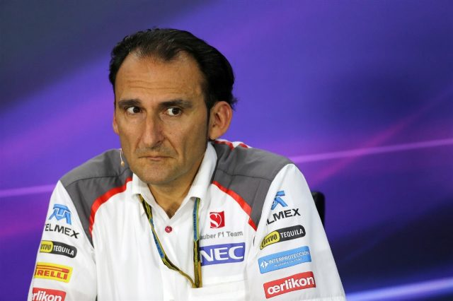 Giampaolo Dall'ara, Sauber Head of Track Engineering in the Press Conference. Formula One World Championship, Rd7, Canadian Grand Prix, Practice, Montreal, Canada, Friday, 6 June 2014. © Sutton Images