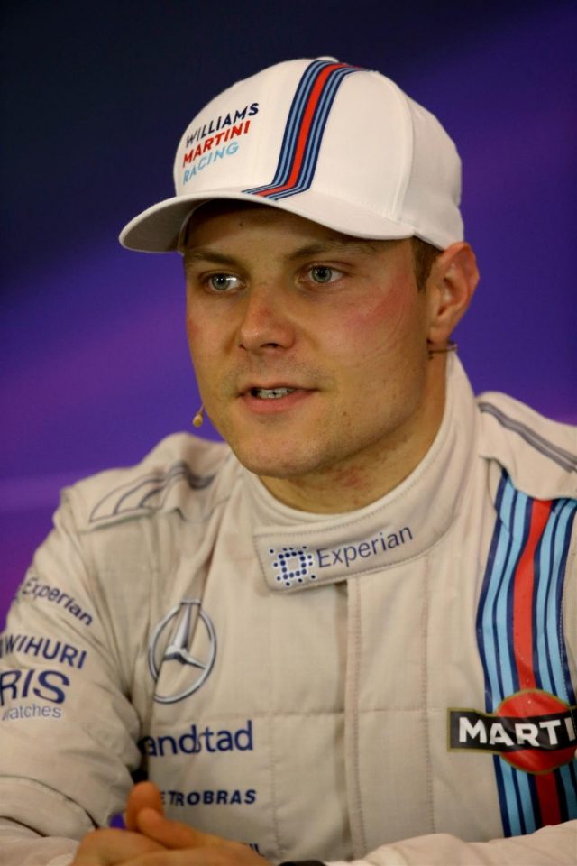 Valtteri Bottas (FIN) Williams in the Press Conference. Formula One World Championship, Rd8, Austrian Grand Prix, Race, Spielberg, Austria, Sunday, 22 June 2014. © Sutton Images