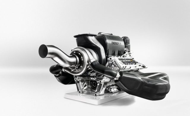 The Renault Sport Energy F1-2014 Power Unit. © Renault Sport F1