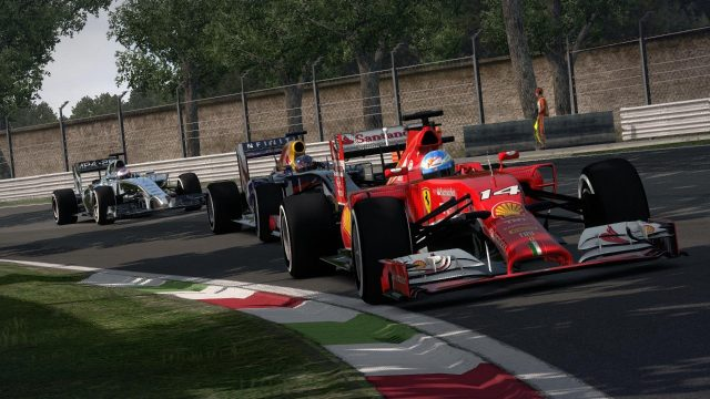 Screenshot of Codemasters' F1 2014™ game