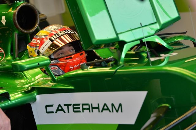 Robin Frijns (NDL) Caterham CT05. Formula One World Championship, Rd9, British Grand Prix, Practice, Silverstone, England, Friday, 4 July 2014