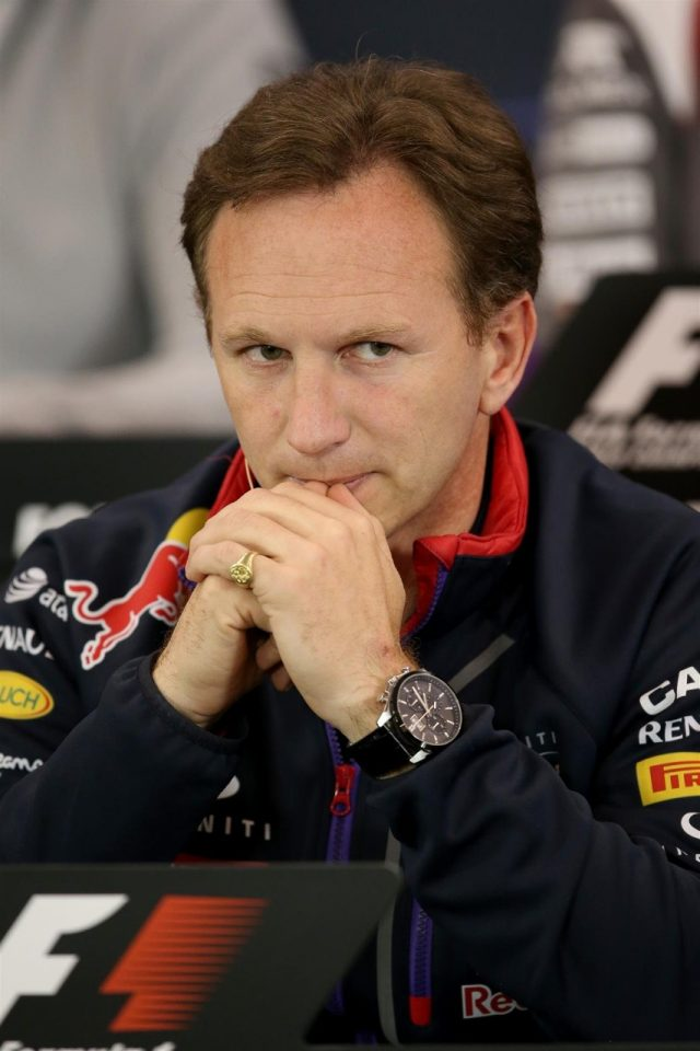 Christian Horner (GBR) Red Bull Racing Team Principal in the Press Conference. Formula One World Championship, Rd8, Austrian Grand Prix, Practice, Spielberg, Austria, Friday, 20 June 2014