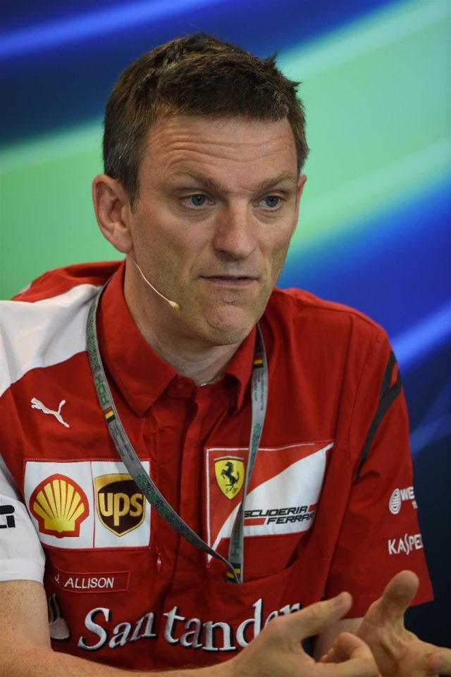 James Allison (GBR) Ferrari Chassis Technical Director in the Press Conference. Formula One World Championship, Rd12, Belgian Grand Prix, Practice, Spa-Francorchamps, Belgium, Friday, 22 August 2014. © Sutton Images