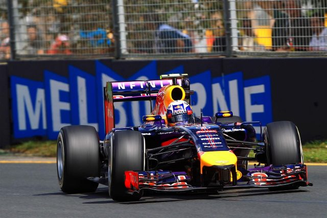 Daniel Ricciardo (AUS) Red Bull Racing RB10. Formula One World Championship, Rd1, Australian Grand Prix, Qualifying, Albert Park, Melbourne, Australia, Saturday, 15 March 2014. © Sutton Images