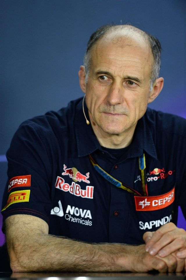 Franz Tost (AUT) Scuderia Toro Rosso Team Principal, in the Press Conference. Formula One World Championship, Rd14, Singapore Grand Prix, Marina Bay Street Circuit, Singapore, Practice, Friday, 19 September 2014
