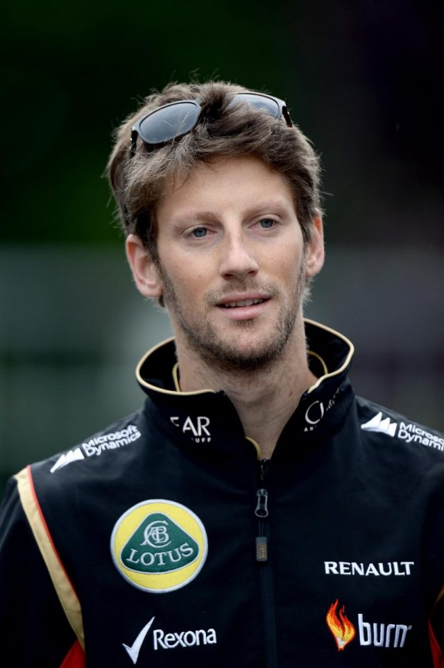 Romain Grosjean (FRA) Lotus F1. Formula One World Championship, Rd12, Belgian Grand Prix, Qualifying, Spa-Francorchamps, Belgium, Saturday, 23 August 2014