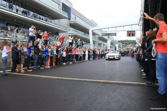The official opening of Sochi Autodrom, Russia. © Sochi Autodrom
