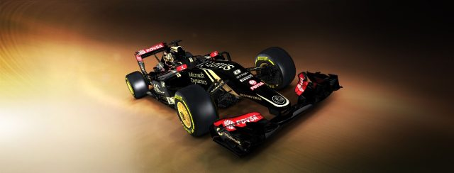 Lotus E23 Hybrid first view, Enstone, England, 26 January 2015. ©Lotus