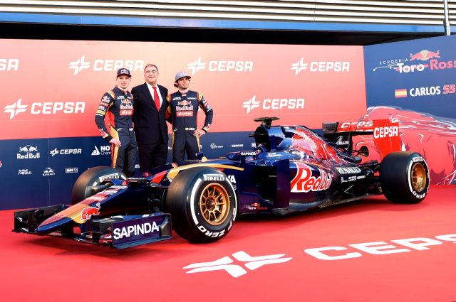 new car launches jan 2015Toro Rosso debut the STR10 in Spain