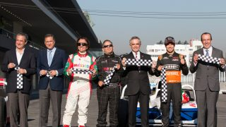Perez and Fittipaldi attend Mexico's official reopening