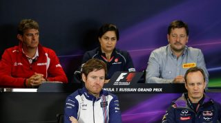 FIA Friday press conference - Russia