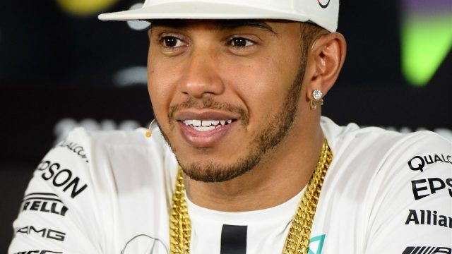Lewis Hamilton (GBR) Mercedes AMG F1 in the press conference at Formula One World Championship, Rd19, Abu Dhabi Grand Prix, Preparations, Yas Marina Circuit, Abu Dhabi, UAE, Thursday 26 November 2015. &copy&#x3b; Sutton Motorsport Images