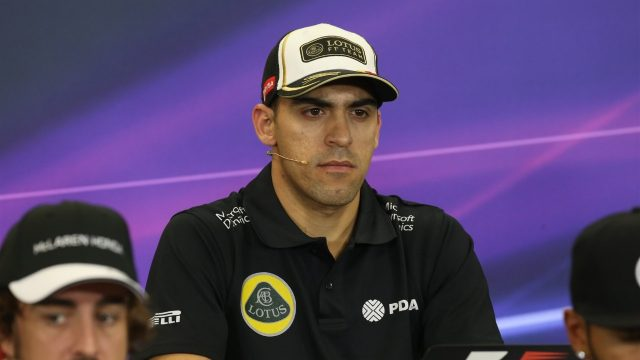 Pastor Maldonado (VEN) Lotus at the press conference at Formula One World Championship, Rd17, Mexican Grand Prix, Preparations, Circuit Hermanos Rodriguez, Mexico City, Mexico, Thursday 29 October 2015. &copy&#x3b; Sutton Motorsport Images