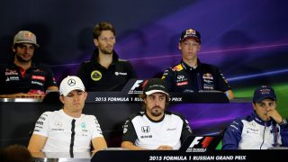 FIA Thursday press conference - Russia