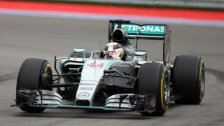Hamilton wins eventful Russian race as Rosberg retires