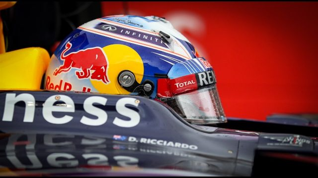 Daniel Ricciardo (AUS) Red Bull Racing RB11 at Formula One World Championship, Rd16, United States  Grand Prix, Race, Austin, Texas, USA, Sunday 25 October 2015. &copy&#x3b; Sutton Motorsport Images